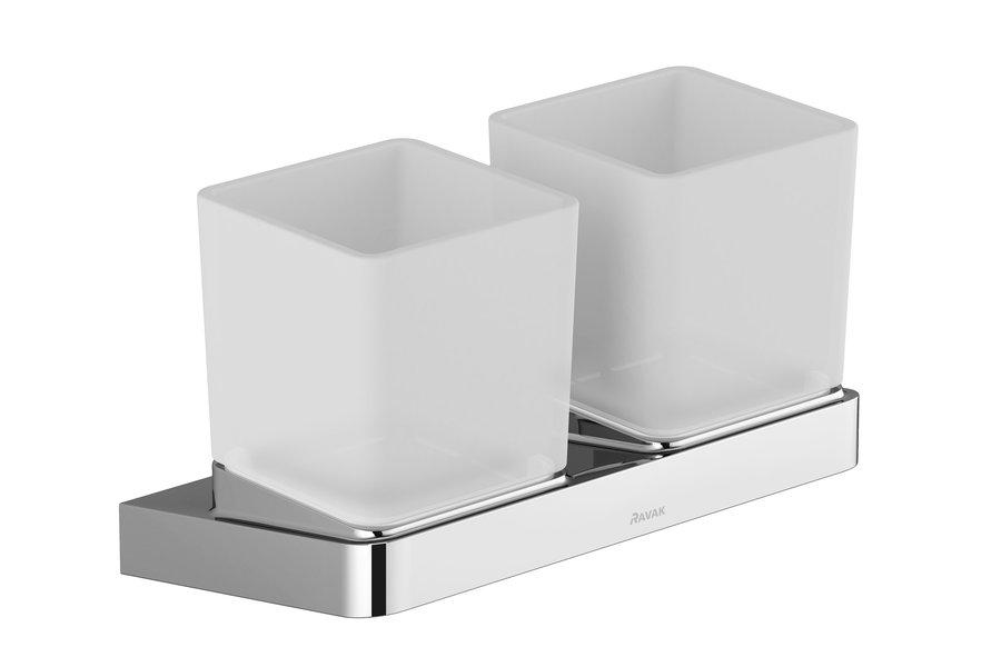 Pahar cu suport dublu Ravak Concept 10° imagine