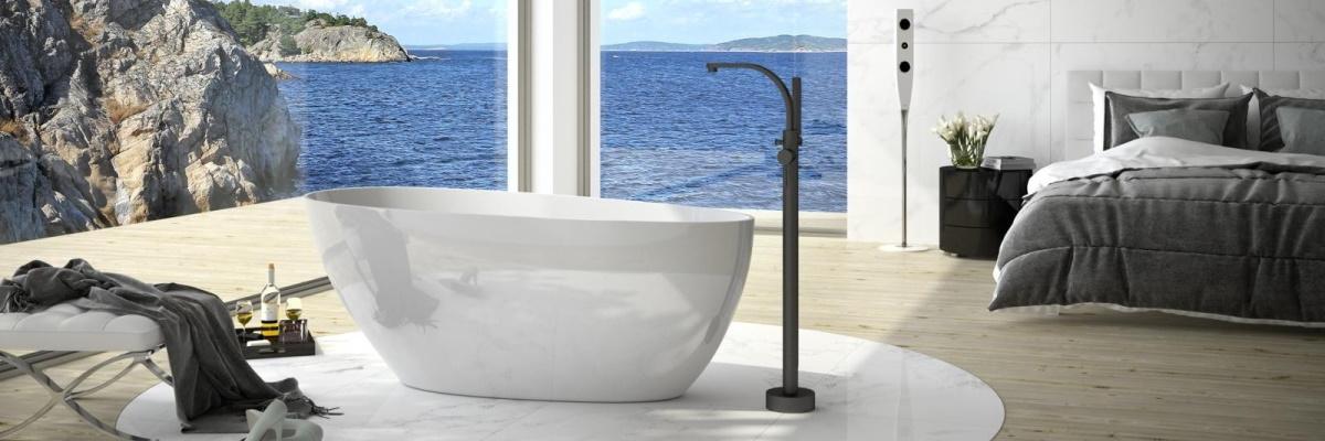 Cada freestanding din oferta SensoDays. Este eleganta, stilata, confortabila.