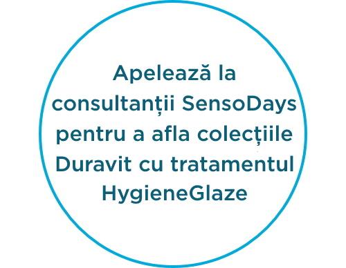 Ceramica HygieneGlaze by Duravit
