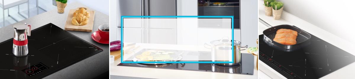 Un detaliu elegant in bucatarie: Plite subtiri, la nivelul blatului