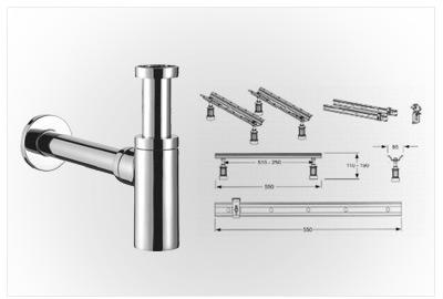 Accesorii montaj Ideal Standard