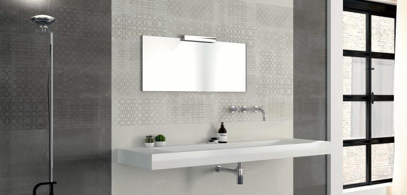 Faianta decorativa Calx pentru baie cu lavoar suspendat