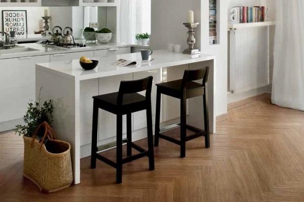 Gresie cu aspect de lemn Iris Ceramica Blonde