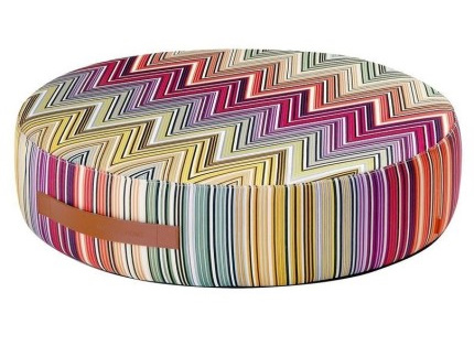 Puf colorat Missoni Home