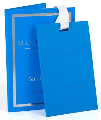 Card parfumat Max Benjamin Classic Blue Flowers
