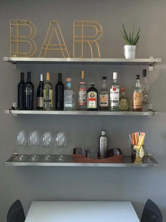 Accesorii pentru amenajarea unui bar stilat acasă