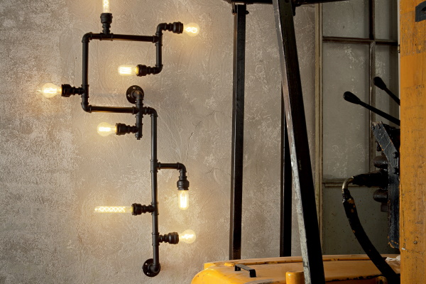 Aplica cu design industrial Ideal Lux