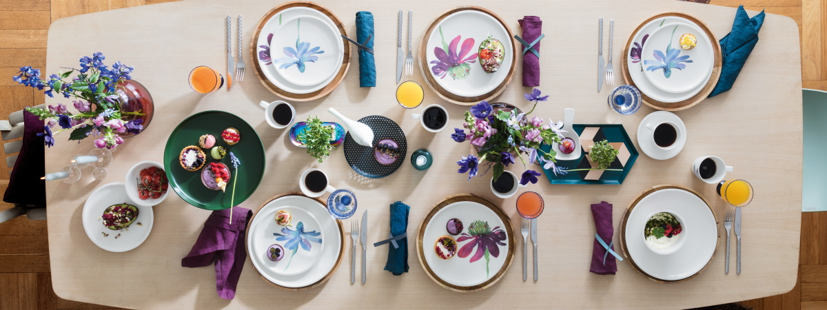 Aranjament masa colectia Artesano Flower Art de la Villeroy&Boch