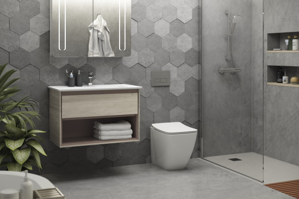 Baie cu sanitare si mobilier Ideal Standard Strada II