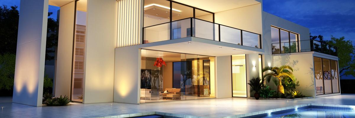 Casa de lux cu arhitectura moderna
