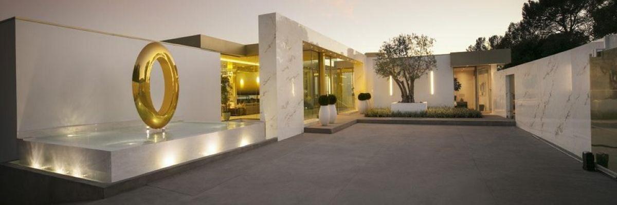 Exterior Casa Opus din Beverly Hills