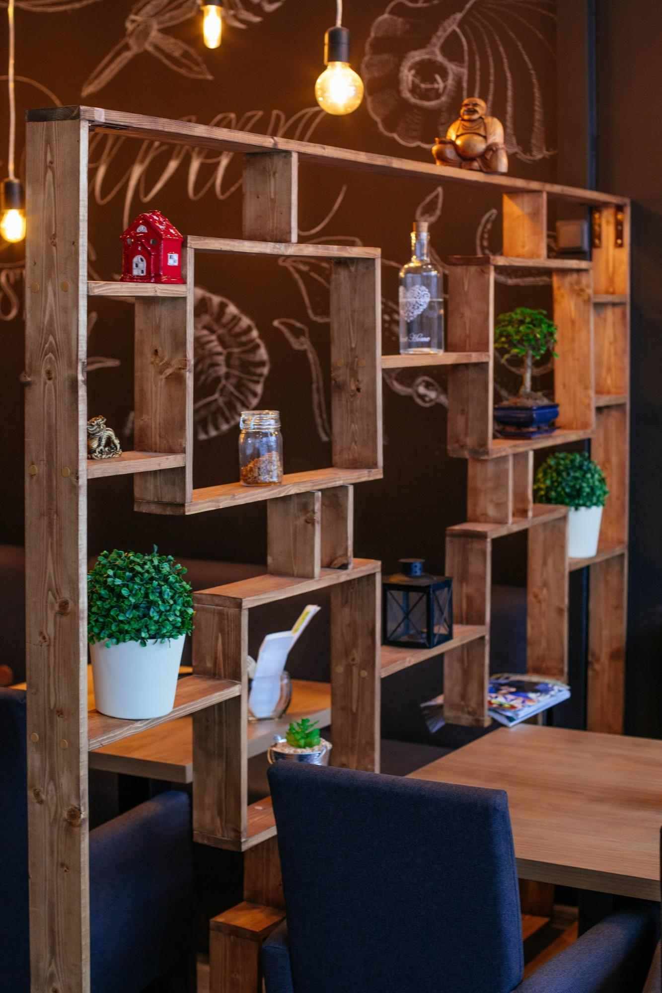 Decor din lemn - idei creative