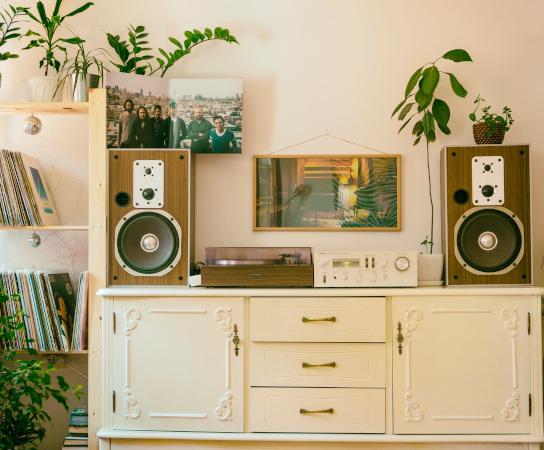 Design interior in stil vintage