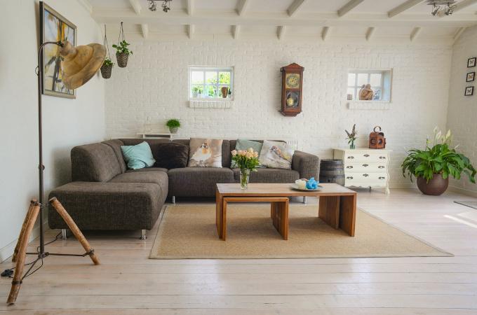 Design de interior in stil boem