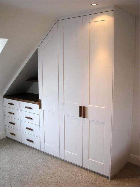 Amenajare dormitoare la mansarda