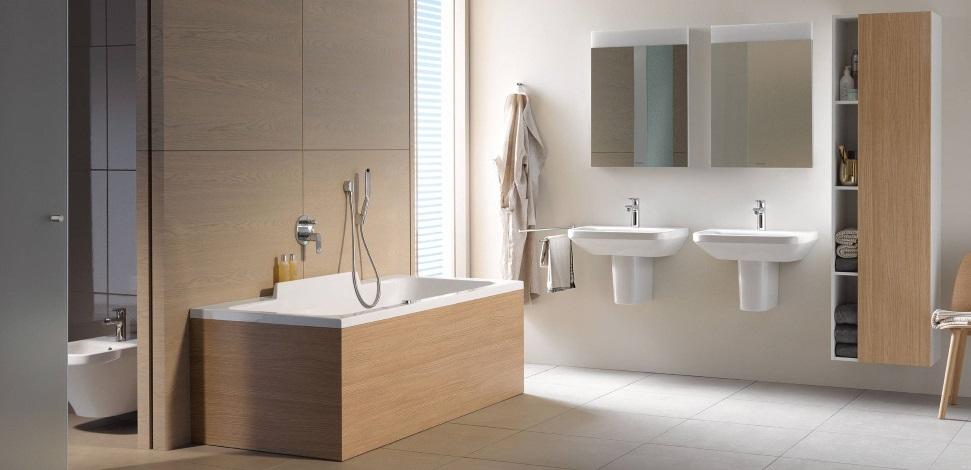 Baie premium cu design modern cu mobilier Duravit DuraStyle