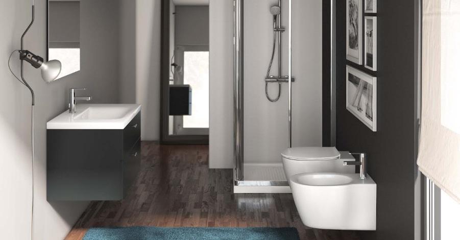 Baie moderna cu vas wc si bideu Ideal Standard Connect