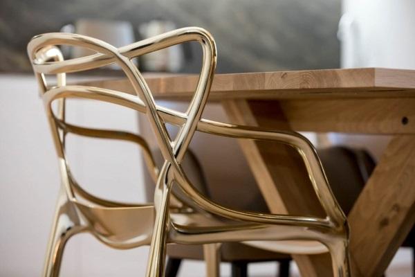 Scaun design Kartell Masters de Philippe Starck
