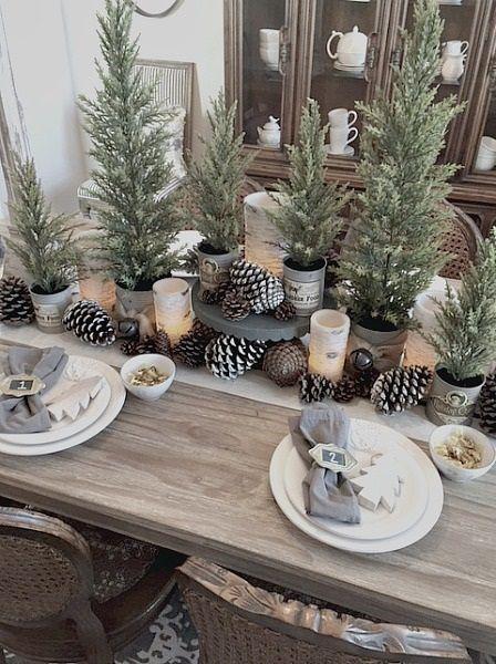 Decoratiuni masa cu braduti