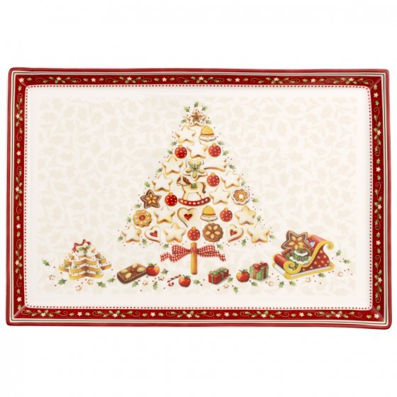 Platou rectangular Villeroy & Boch Winter Bakery Delight 39x26.5cm