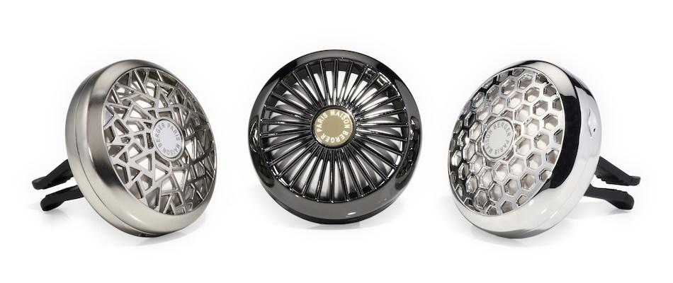 Odorizante auto metalice cu magnet Maison Berger