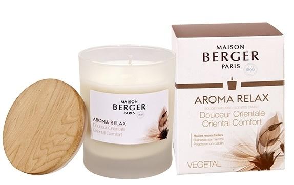 Lumanare parfumata Berger Aroma Relax Douceur Orientale