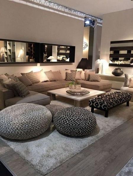 Canapea de colt relaxanta