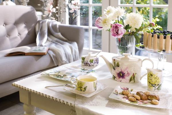 Set servire ceai Villeroy&Boch Quinsai Garden