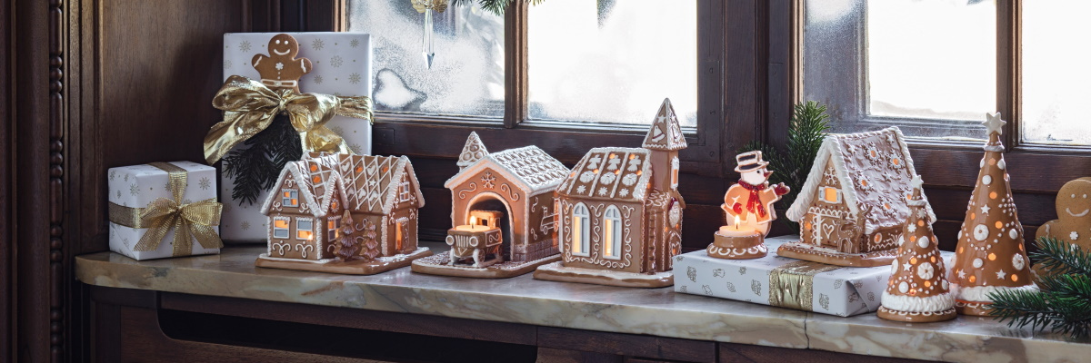 Decoratiuni de Craciun Villeroy&Boch Winter Bakery