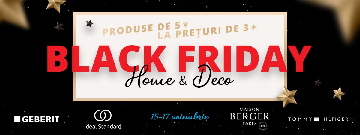 Black Friday la SensoDays - branduri premium